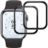 RIIMUHIR Protector de Pantalla para Apple Watch Series 1/2/3 42mm, [2 Pack] Cristal Templado para Apple Watch Series 1/2/3 42mm, Vidrio Templado, Dureza 9H, Anti-Rasguños, Sin Burbujas