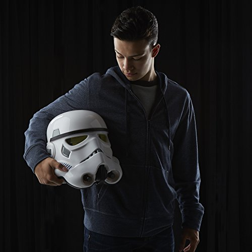 Star Wars The Black Series Imperial Stormtrooper Electronic Voice Changer Helmet, Collector Item, Ages 8 and up (Amazon Exclusive)