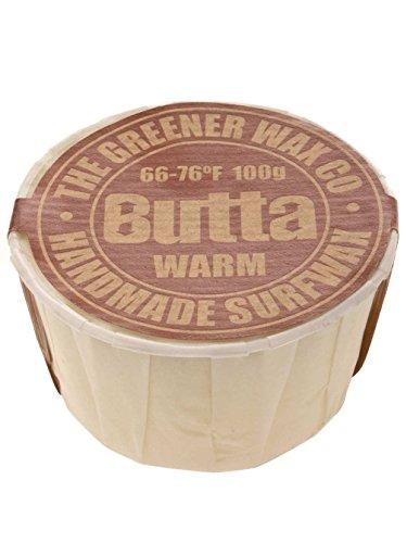 Surf Wax Butta cálido 100g Surf surfwachs, blanco, talla única