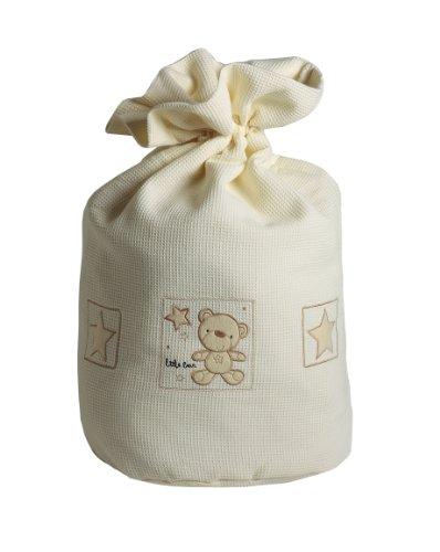 Baby Elegance Star Ted Sac à linge Crème