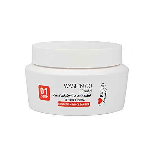I love riccio Wash'n Go Crema lavante Co-Wash per capelli ricci senza tensioattivi e schiumogeni nutriente e idratante