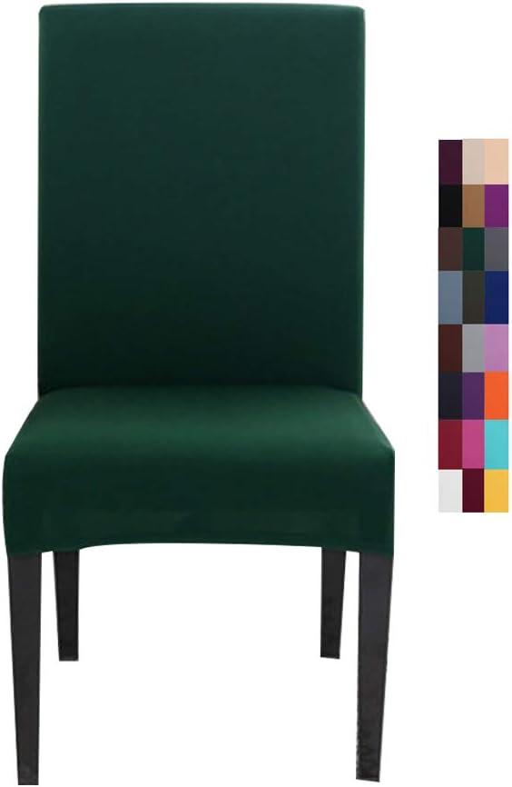 tinta unita per sala da pranzo e sedie elastiche colore: rosso Coprisedia elasticizzato AllRing matrimoni banchetti in spandex per ristorante