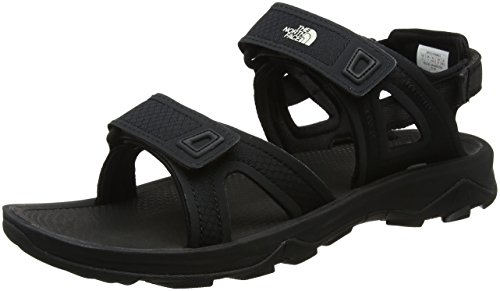 The North Face M Hedgehog Sandal II, Sandlai Sportivi Uomo, Nero (TNF Black/Vintage White Lq6), 45.5 EU