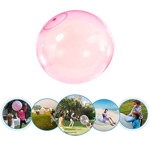 Bubble Balloon Opblaasbare Toy Ball, Opblaasbare Bubble Ball, Transparant Scheurbestendig Bounce Ballon, Strand Watersport Buitenspeelgoed 60cm