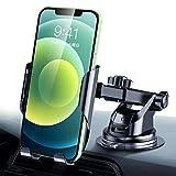 【令和進化版】DesertWest スマホホルダー 車 車載ホルダー 粘着ゲル吸盤 携帯ホルダー 車 カーホルダー 伸縮アーム ケース対応/斬新なギア連動技術/片手操作可能/ワンタッチ/360度回転可能/4.5-6.7インチ多機種対応 iPhone/Samsung Galaxy Note20/Sony/LG/Huawei など対応 日本語取り扱い説明書付き