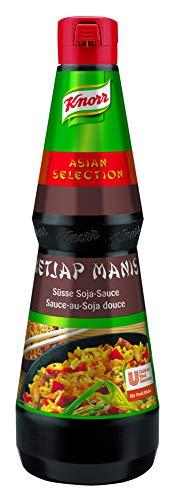 Knorr Ketjap Manis süße Soja Sauce (asiatische Würzsauce) 1er Pack (1 x 1L)