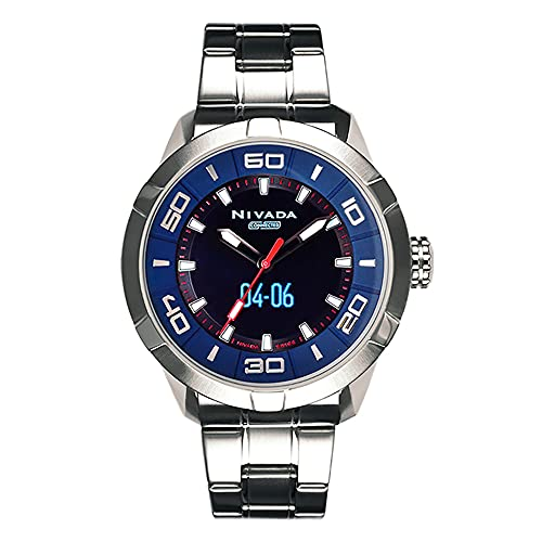 Reloj Nivada Swiss Connected para Hombres 49mm