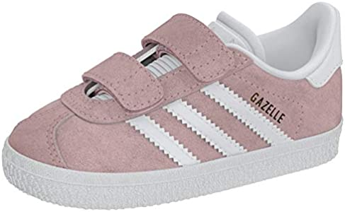Adidas Gazelle CF I, Zapatillas Unisex niños, Rosa (Ice Pink/Footwear White/Footwear White 0), 22 EU