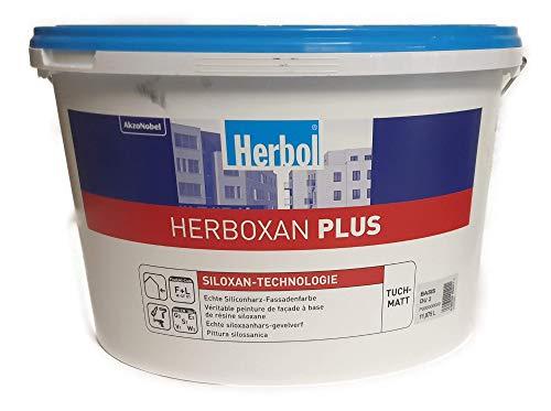 Herbol Herboxan Plus TUCHMATT Silikonharz Fassadenfarbe 12,5 l Mittelgrau 11,20 €/L
