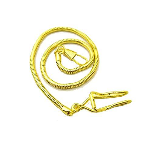FJXJLKQS Correa De Reloj Correa De Reloj De Repuesto De Malla De Acero Inoxidable Ajustable Transpirable E Impermeable Cierre Rápido,Gold-B