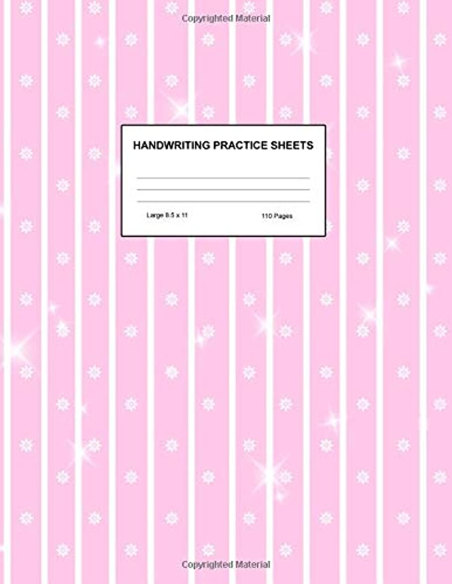 Handwriting Practice Sheets: Cute Blank Lined Paper Notebook for Writing Exercise and Cursive Worksheets - Perfect Workbook for Preschool, ... 3rd and 4th Grade Kids - Product Code A4 5216