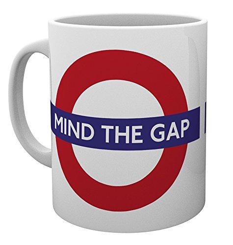 GB eye LTD, Transport for London, Mind The Gap, Tazza in ceramica, varie, 15 x 10 x 9 cm