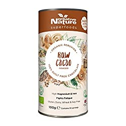 High in flavanoids and dietary fibre 100% natural and raw Organically certified with The Soil Association No added sugar, preservatives or sweeteners Suitable for vegan and vegetarian