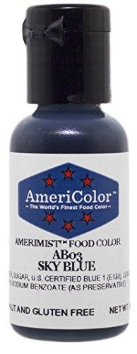 Airbrush Farbe AmeriColor AmeriMist SKY BLUE 19ml
