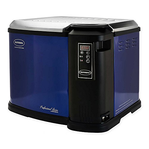 Butterball XXL Digital 22 lb. Indoor Electric Turkey Fryer (Blue)