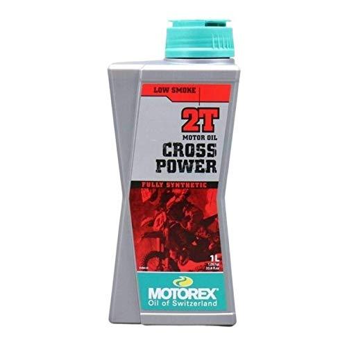 MOTOREX - Huile moteur Cross Power 2T 1L 100% synthètique