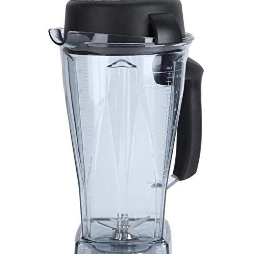 Kit de accesorios de reemplazo de cuchilla de tapa de vaso de licuadora transparente de 64 oz apto para Vitamix