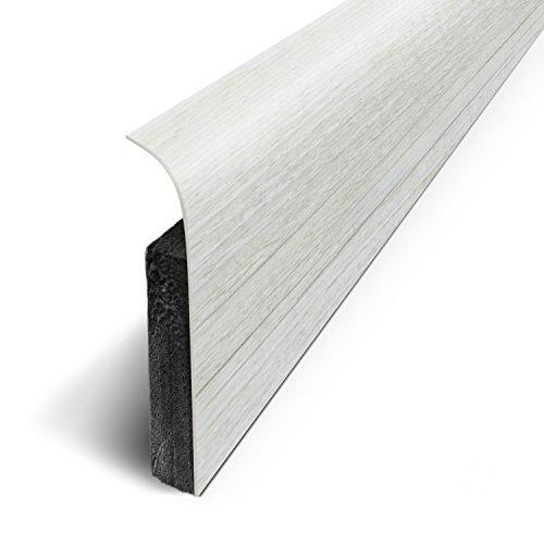 3M - Plinthes Adhésives (lot de 5) - Pécan Rustic - Long.120 cm x Haut.7 cm x Ep. 1.1cm (Ref: D180514D)