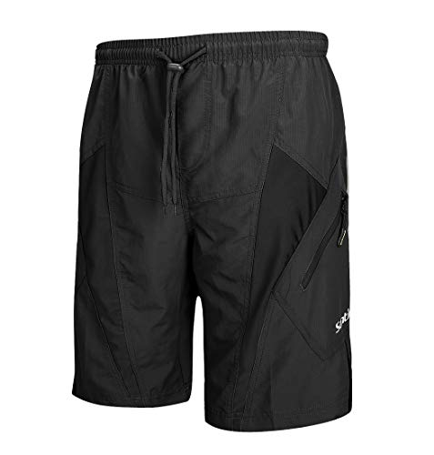 Santic Men's Cycling Shorts Loose-Fit 4D Bike shorts