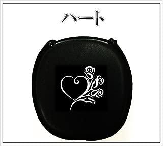 新作 デザイン三線 ブラック&ホワイト ハート 【海の声 工工四 プレゼント】 初心者セット付き