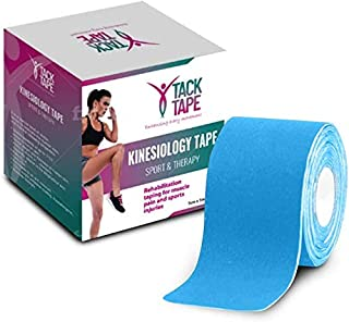 Tack Tape Kinesiology Tape - Gymnastics Therapeutic Athletic Sports Tape - No Sticky Residue & Easy to Tear - Hypoallergen...