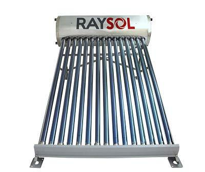 Calentador Solar Raysol Gr 15 Tubos-150 Litros Baja Presión