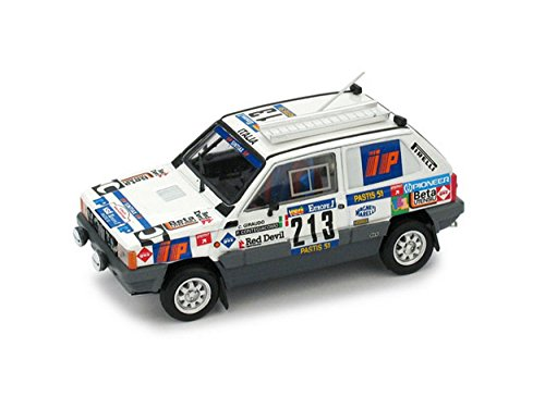 Brumm Model Compatible con FIAT Panda 4x4 N.213 Abandon P.Dakar 1984 GIRAUDO-CONTEGIACOMO 1:43 DIECAST BM0442
