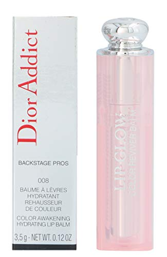 Christian Dior Dior Addict Lip Glow 008 Ultra Pink for Women, 0.12 Ounce