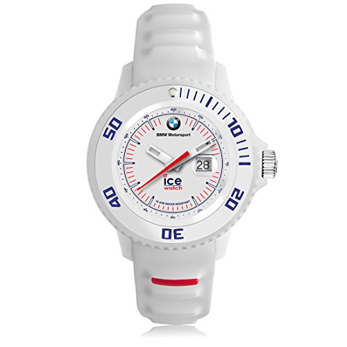 Ice-Watch - BMW Motorsport (sili) White - Boy's (Unisex) wristwatch with silicon strap - 000833 (Small)