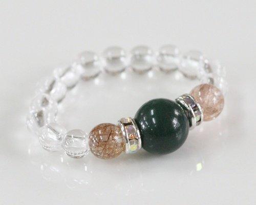 ブラッドストーン|水晶|指輪