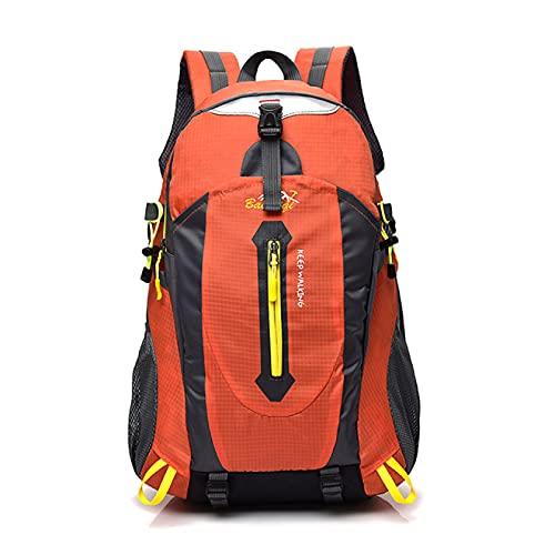 Mochilas de camping y senderismo con marco interno de 32 x 19 x 50 cm, 40 litros, tela de nailon, mochila de senderismo, montañismo, impermeable, bolsa deportiva de viaje