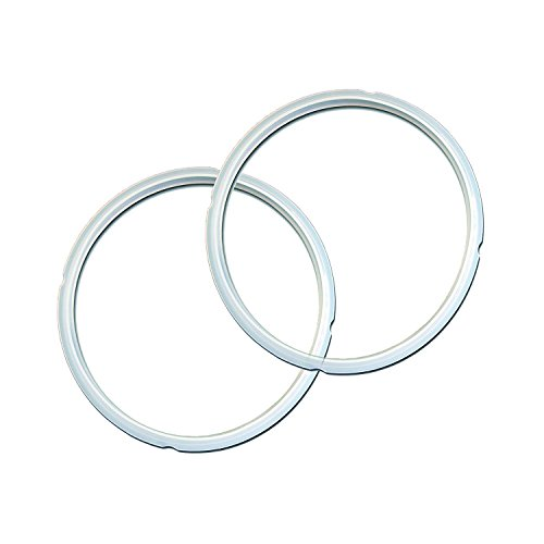 """""""Twin Pack: 2 GJS Gourmet Sealing Rings Compatible with 5 and 6 Quart Instant Pot"""". These rings are not created or sold by Instant Pot. -  USATA"""