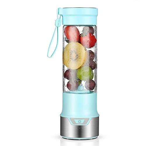 YYWDP Mini Batidora Electrica,Licuadora para Fruta Recargable Juice Blender con USB Centrífuga...