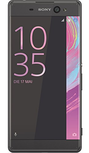 Sony Xperia XA Ultra Smartphone (15,2 cm (6 Zoll) IPD-HD-Display, 16 GB Speicher, 21,5 MP Hauptkamera, Android 5.0) Schwarz