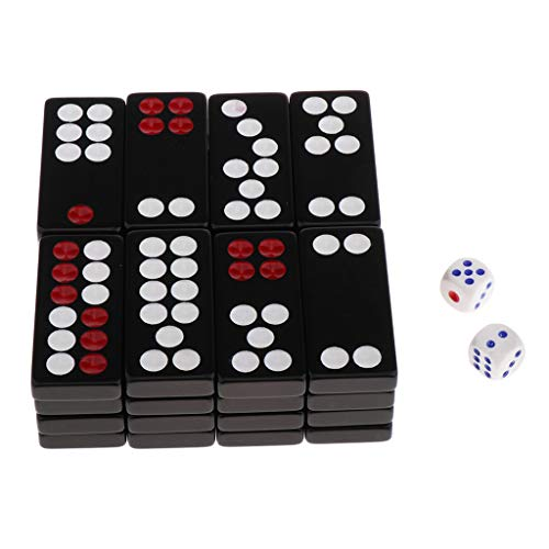 Bonarty 32pcs Traditional Chinese Pai Gow Paigow Tile Set Casino Game For Family Play B Buy Online In Angola At Angola Desertcart Com Productid 177459296