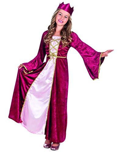 Boland 82143 – Enfants Costume Renaissance Queen
