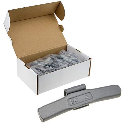 50x Premium Schlaggewichte 50g Stahl FE/S für Stahlfelgen Auswuchtgewichte Wuchtgewichte