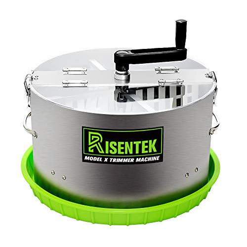 Risentek Bud Leaf Trimmer Machine Upgraded Model X 16-inch Hydroponic Bowl Trim for Cut Plant and Flower
