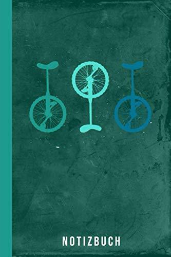 Notizbuch: Einrad fahren (Radsport Zubehör, Band 1)