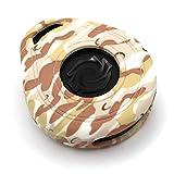 Funda para Llave de Moto HAB de Silicona, Keyless Go (Desert Camouflage)
