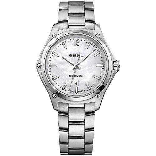Ebel Discovery Damen-Armbanduhr 33mm Armband Edelstahl Schweizer Quarz 1216393