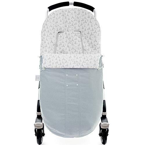 Saco de silla Lino Tippy azul de Uzturre