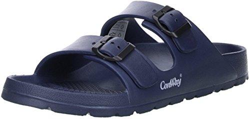 ConWay Mistral Herren Badeschuhe Latschen Sandalen Pantoletten blau, Größe:41;Farbe:Blau