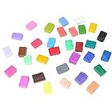 Polímero de arcilla de modelado opcional de 24/32 colores, polímero de arcilla de alta tenacidad, interesante colorido respetuoso con el medio ambiente para niños Comunicación(32)