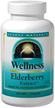 Source Naturals Wellness Elderberry Extract - Immune System Support - 120 Tablets