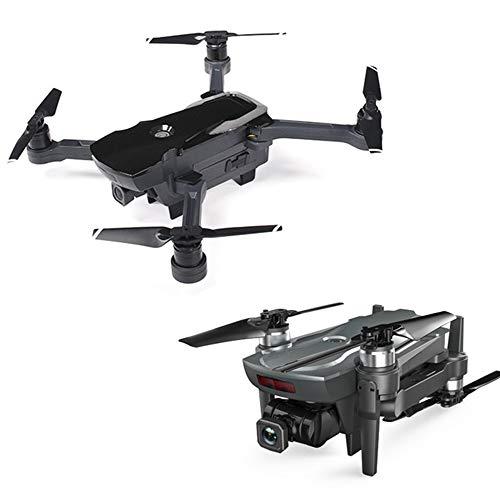Lily 4K GPS Brushless Drone HD in Tempo Reale Aerea Pieghevole Quad Assi Aircraft Positioning Voli A Distanza Aerei Controllo,Nero,4K
