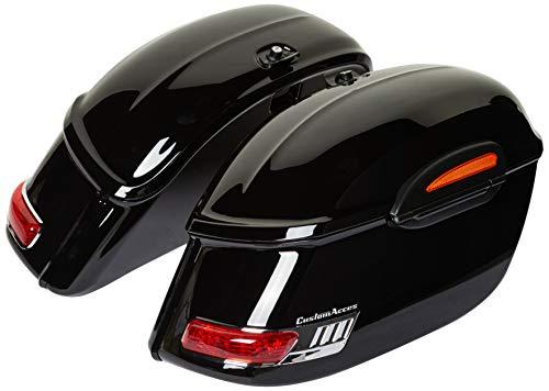 Customaccess AZ0406N Sacoches Rigides Customacces Touring (Paire) 33L + Kit de Montage Yamaha XV950 (VN03) '14-'18