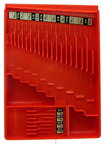 Tool Sorter Wrench Organizer - Red