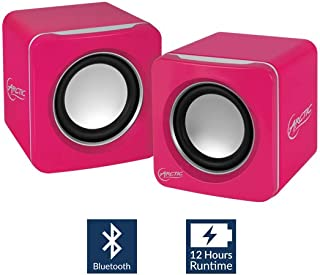 Arctic S111 BT Mobile Bluetooth V4.0 Sound-System with 2 x 2 W RMS - Retail Packaging - Pink