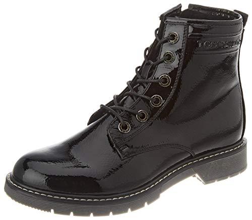 Tom Tailor Womens 9092801 Mid Calf Boot Bootie Boot, Black, 42 EU